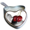 .Earthly Body Hjerte Massagelys - Cherry 175ml