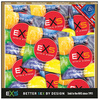 .100 stk. EXS - Bubble Gum kondomer